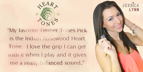 Jessica loves our Heart Tones