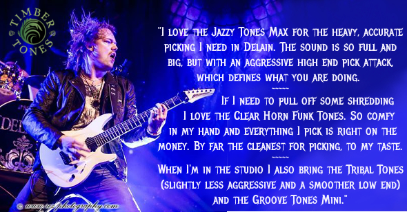 Timo loves our Jazzy Tones Max