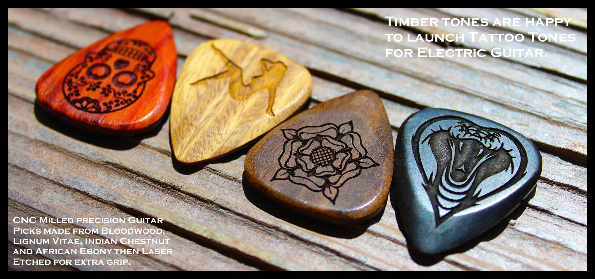 Timber Tones Largest Collection Of Luxury Guitar Picks